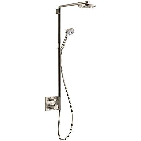Hansgrohe 27192821 Raindance S Showerpipe Trim Brushed Nickel