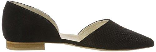 Schwarz Femme Pisa Noir Shoes 00304 Bout Fermé Marc Ballerines a60qw