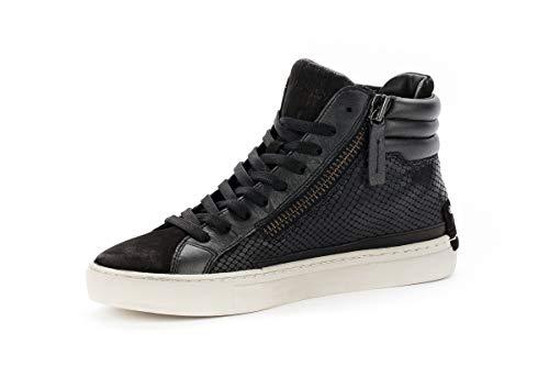 Top Crime London Sneakers Donna Nero Hi 25146aa120 Pelle Eq8qxgfzw