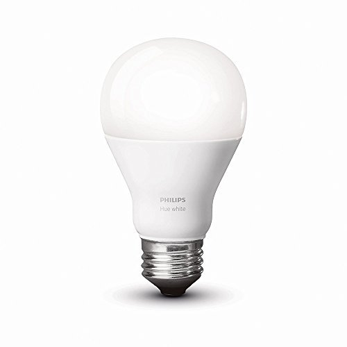 046677455293 - Philips 455295 Hue White A19 Single LED Bulb, Works with Amazon Alexa (Hue Bridge Required) carousel main 1