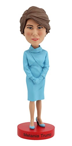 Royal Bobbles Bobblehead of Melania Trump Limited Edition Inaugural Version, Collectible Bobblehead Figurines