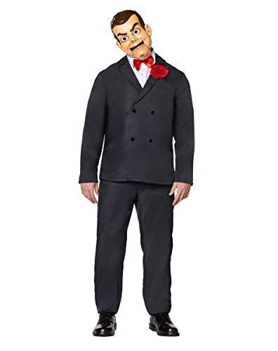 Scary Ventriloquist Dummy Costumes - Spirit Halloween Adult Slappy The Dummy
