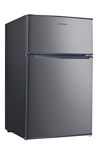 Price comparison product image Amana AMAR31TS1E 3.1 cu. Ft. Two Door Compact Refrigerator,  Stainless Steel
