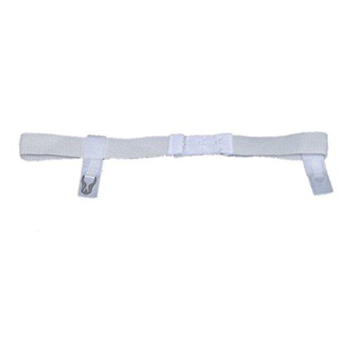 Duro-Med Plush Elastic Sanitary Belt with Moveable Tabs, Adjustable Closure, White, 1 (6 Dozen)