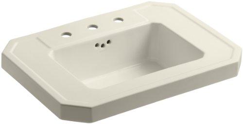 KOHLER K-2323-8-47 Kathryn Bathroom Sink Basin with 8