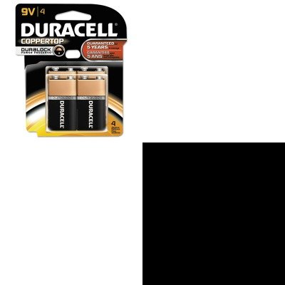 KITDURMN16RT4ZSBWGP250 - Value Kit - Salter Brecknell Portable Electronic Utility Bench Scale (SBWGP250) and Duracell CopperTop Alkaline Batteries with Duralock Power Preserve Technology (DURMN16RT4Z)