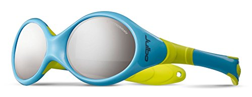 (Julbo Spectron 4 Baby Looping 2 Sunglasses, Pastel Blue/Pastel Green, 12-24 Month Olds)