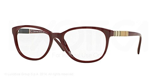 Burberry Women's BE2172 Eyeglasses Bordeaux 54mm by BURBERRY