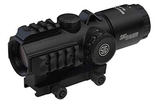 Sig Sauer SIG-SOB53102 BRAVO5 5x30mm Battle Sight 300 Blackout Horseshoe Dot, Black by Sig Sauer