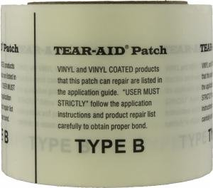 Verified Exchange Industrial Size Bulk Roll Tear Aid - (Vinyl Type B) - 3