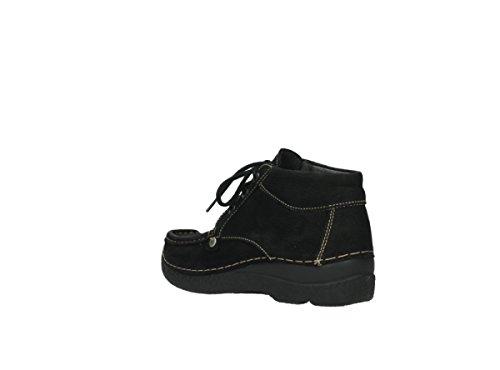 Jewel Womens 10000 Wolky Nubuk Schwarz Leather 3204 Sandals E7pwqvA