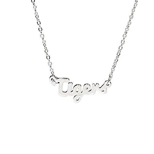 Tigers Script Necklace - Fan Frenzy Gifts NCAA Clemson Tigers Script Necklace