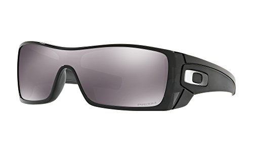 Oakley Batwolf Sunglasses (Black Ink Frame, Prizm Black Lens) with Lens Cleaning Kit and Country Flag ()