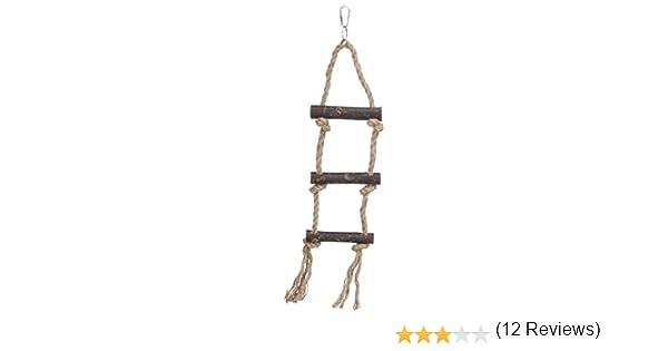 Trixie 5186 Escalera Loros, 3 Peldaños, 40 cm: Amazon.es: Productos para mascotas