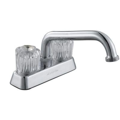 Glacier Bay Chrome Laundry Faucet With Two Handles