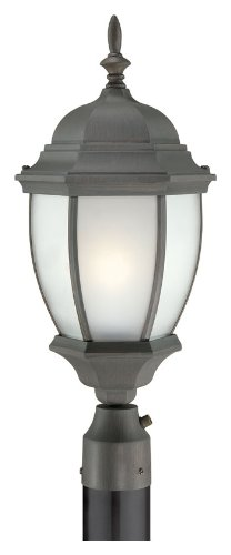 Thomas Lighting PL901063 Covington Outdoor Post Lantern, Painted (Tile Bronze Lantern)