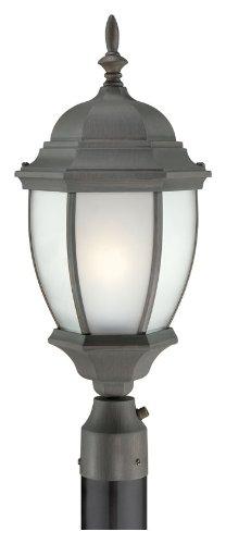 Thomas Lighting PL901063 Covington Outdoor Post Lantern, Painted Bronze