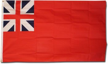 British Red Ensign - 3'x5' Polyester Flag
