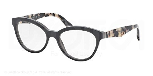 opal grey/grey prada triangle pr11rv roj1o1 glasses
