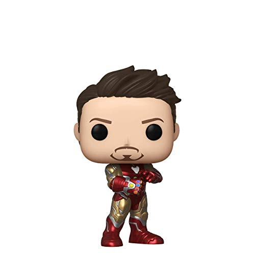 Funko 43363 Avengers End Game Iron Man Pop Figura de Vinilo, Multicolor