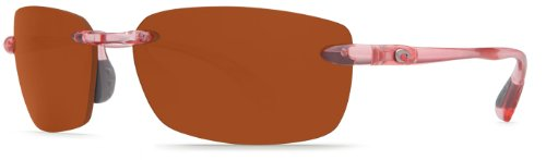 Costa Del Mar Sunglasses - Ballast- Plastic / Frame: Conch Shell Lens: Polarized Copper 580 Polycarbonate