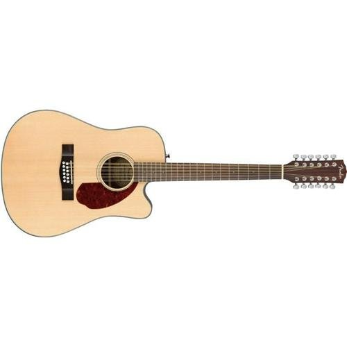 Fender CD-140SCE 12 String Acoustic-Electric Guitar with Case - Dreadnaught Body Style - Natural Finish