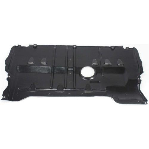 (Make Auto Parts Manufacturing Rear Engine Splash Shield Under Cover Plastic For Mazda 3 2004-2009, Mazda 5 2006-2010 - MA1228103)