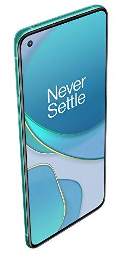 """OnePlus 8T Smartphone 6.55 """"120 Hz FHD + Display Fluido, 12 GB di RAM + 256 GB di Spazio di Archiviazione, Quad camera, 65 W Warp Charge, Dual SIM, 5G, Aquamarine Green 4"""