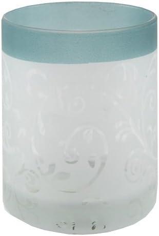 7.2 x 6.5 x 8.1 cm White//Green Yankee Candle Teal Vine Votive Holder