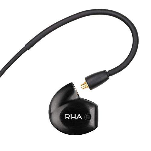 RHA T20 Wireless in-Ear Monitors: HiFi IEMs with Detachable Cable & Bluetooth Neckband (Best Custom In Ear Monitors 2019)