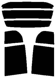 株式会社セブン ハードコートフィルム ミツビシ ミニカ 5ドア H42A・H47A・H42V・H47V リヤーセット カット済みカーフィルム ウルトラブラック