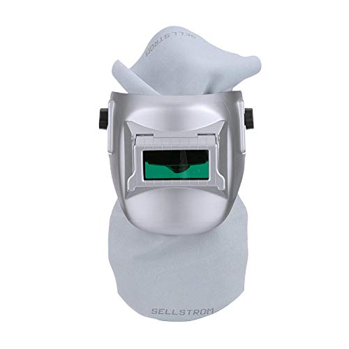 - Sellstrom S29411-08E Confined Space Welding Helmet, Silver Coated, Made in USA