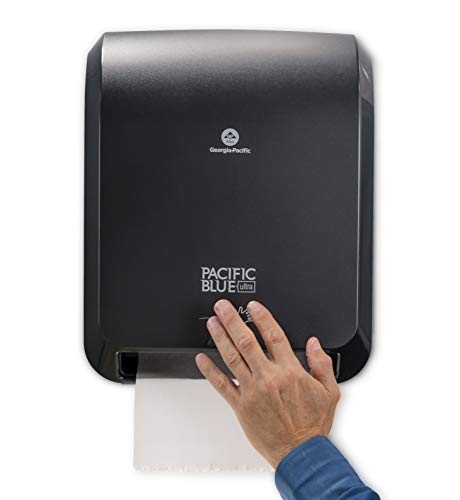 Pacific Blue Ultra Automated Paper Towel Dispenser by GP PRO (Georgia-Pacific), Black, 59590, 12.900