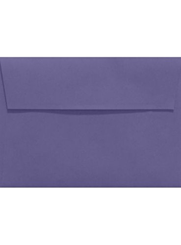 A2 Invitation Envelopes w/Peel & Press (4 3/8 x 5 3/4) - Wisteria Purple (50 Qty.) Photo #2
