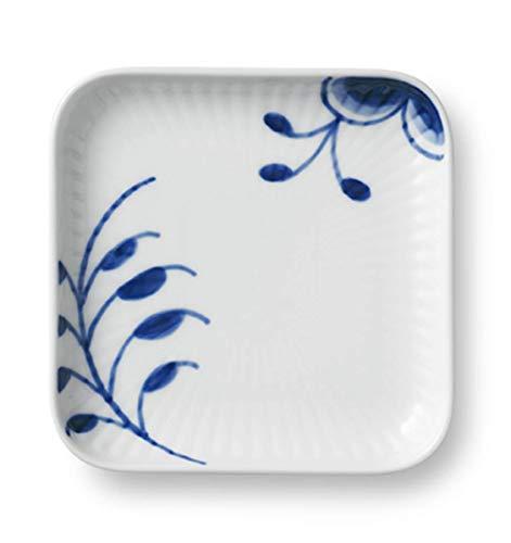 (Royal Copenhagen Blue Fluted Mega Square Plate)