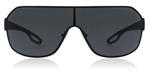 Prada Sport PS52QS DG01A1 Visor Sunglasses, Black, 80mm ()