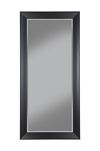 Sandberg Furniture 15011 Contemporary Full Length Leaner Mirror Frame, Black by Sandberg Furniture