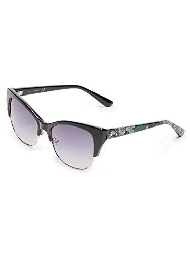 GUESS Women's Nancy Cat Eye Clubmaster - Eye Clubmaster Sunglasses Cat