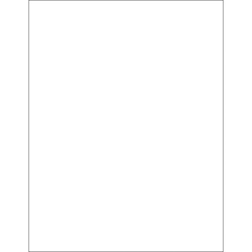 Boxes Fast BFLL271 Removable Rectangle Laser Labels, Load Capacity, Length, 8.5'' width, 11'' Thick, White (Pack of 100) by Boxes Fast