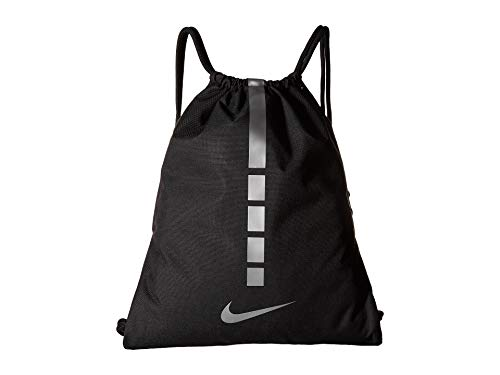 - Nike Hoops Elite Sack Black/Black/Metallic Cool Grey