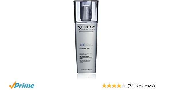 Amazon.com : Tec Italy Scultore Fine Liquid Hair Gel for Sculpt & Define Curls - 300 ml : Curl Enhancers : Beauty