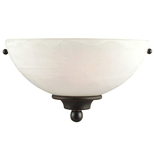 Design House 514554 Millbridge 1 Light Wall Light, Oil Rubbed Bronze ()