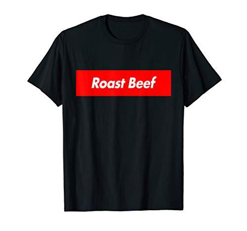 Cook Beef - Roast Beef Love Eat Cook Food Box Logo Funny T-Shirt