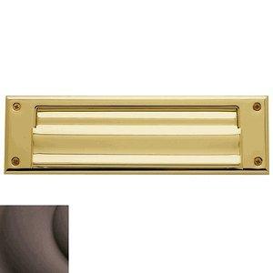 "Baldwin 0017.112 Venetian Bronze 10"" x 3"" Letter Box Plate by Baldwin"
