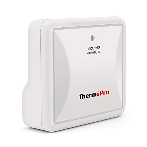 ThermoPro TX-4 Fitting Waterproof Transmitter Monitor Outdoor Temperature and Humidity for TP63/TP63A Indoor Outdoor Thermometer (Accessory Only, Can NOT Be Used Alone)