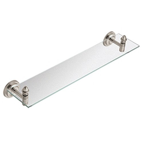 Moen DN4190BN Stockton Inspirations Vanity Shelf, Brushed Nickel