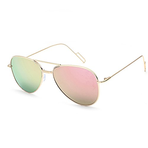 Clearance Sale! ZOMUSA Sunglasses for women, Fashion Classic Auto Drivers Mirrored Flat Lens Sunglasses Metal Frame - Sunglasses Clearances