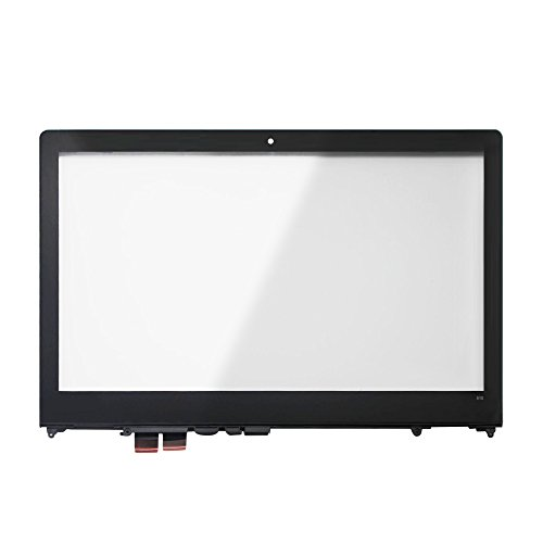 LCDOLED 15.6 inch Replacement Touch Screen Digitizer Glass Panel + Bezel For Lenovo Flex 4-15 4-1570 4-1580 80SB 80VE