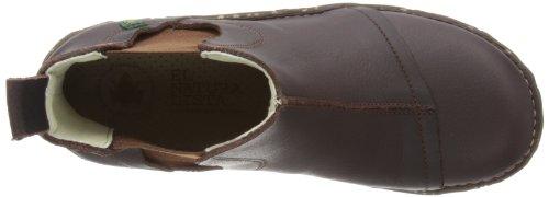El Naturalista IGGDRASIL - Botines chelsea de cuero mujer marrón - Braun (Brown)