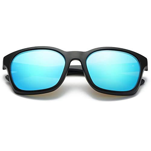 de Hombres Glasses Color Gafas Clarity Sol para para polarizadas Green Sun WEATLY de UV400 Blue Lentes protección Exteriores xX56wZ6q